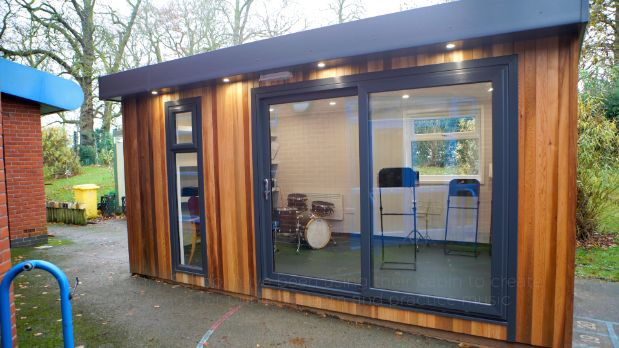 Langar Primary School Outdoor Music Cabin