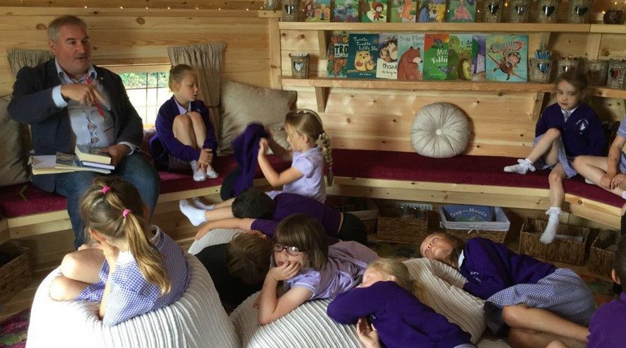 Create the perfect reading space for young learners