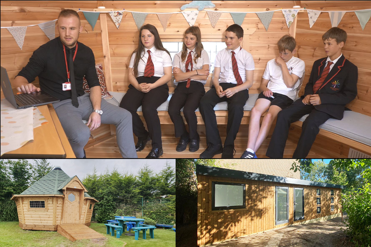 Cabins For Schools - Variety Montage Sept 2020